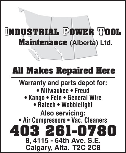 Wobble Light Saskatoon: Industrial Power Tool Maintenance (Alberta) Ltd