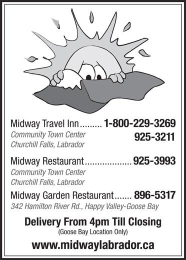 Midway Travel Inn (709-925-3211) - Display Ad -