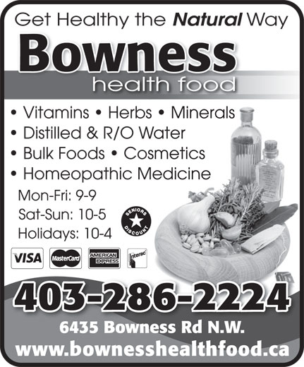 Bowness Health Foods