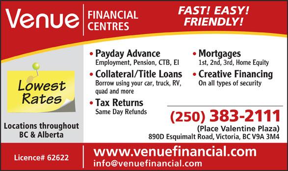 Venue Financial Centres Opening Hours 890d Esquimalt