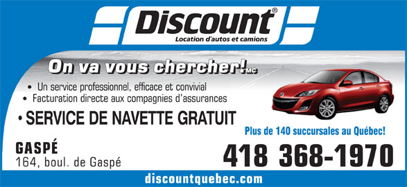 discount car rental montreal decarie discount location d 39 autos et camions gasp qc 164 car. Black Bedroom Furniture Sets. Home Design Ideas