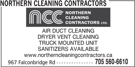 Northern Cleaning Contractors Sudbury On 967 Falconbridge Rd Canpages