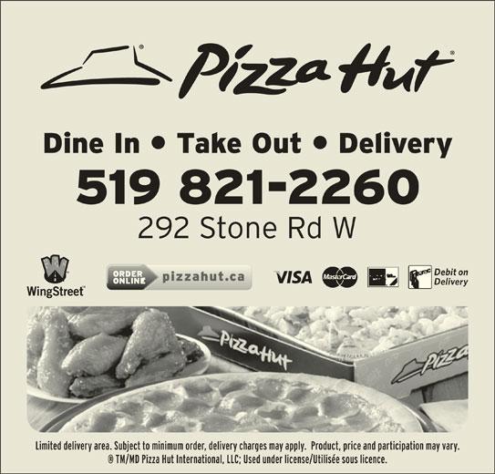Pizza Hut (519-821-2260) - Annonce illustrée======= -