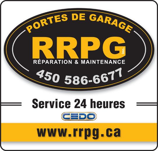 R paration et maintenance rrpg inc lavaltrie qc 471 ch de lavaltrie canpages fr - Maintenance porte de garage ...