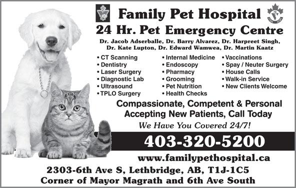 family pet hospital amp 24hr pet emergency center   2303 6