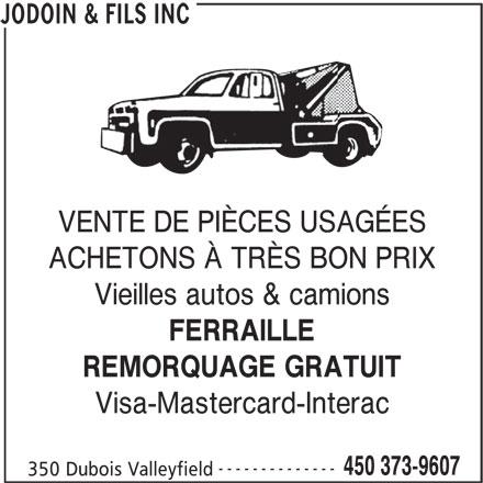 Ads Jodoin R & Fils Inc