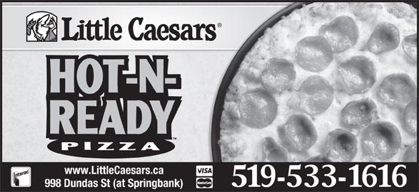 Little Caesars (519-533-1616) - Annonce illustrée======= -