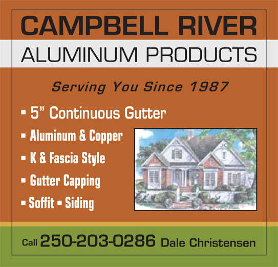 Campbell River Aluminum Products Campbell River Bc