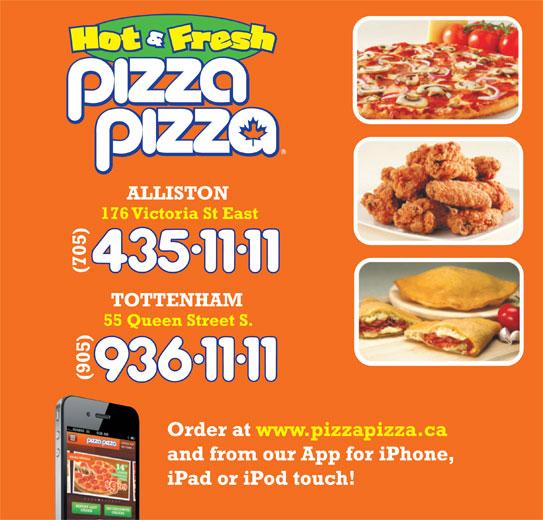 Pizza Pizza (705-435-1111) - Annonce illustrée======= -