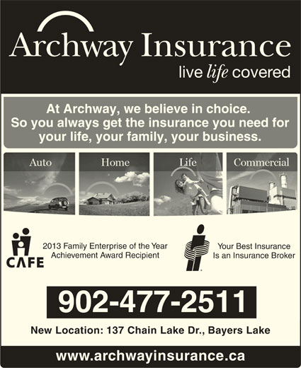 Archway Insurance Halifax - Opening Hours - 103-137 Chain ...