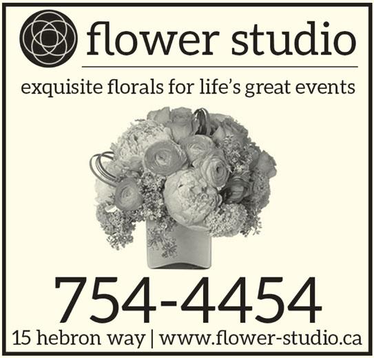 Flower Studio (709-754-4454) - Display Ad -