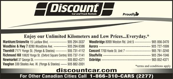 Discount Car Rental  Laidlaw