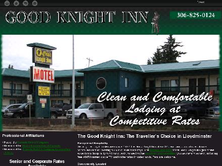 Good Knight Inn (306-825-0124) - Onglet de site Web - http://goodknight-inn.ca
