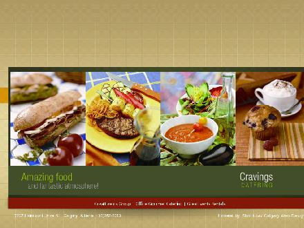 Cravings Market Restaurant (403-798-0878) - Website thumbnail - http://www.cravingsmarketrestaurant.com