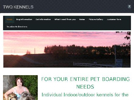 TWQ Kennels & Spa (403-638-0006) - Website thumbnail - http://www.twqkennels.weebly.com