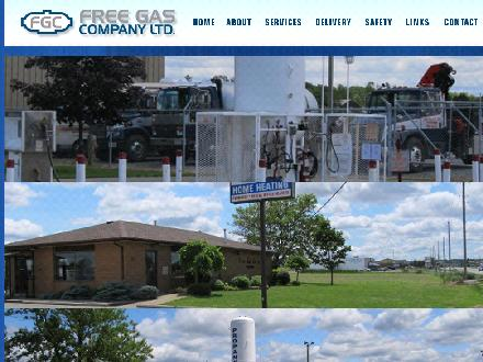 Free Gas Co Ltd (905-892-3377) - Onglet de site Web - http://www.freegasco.com