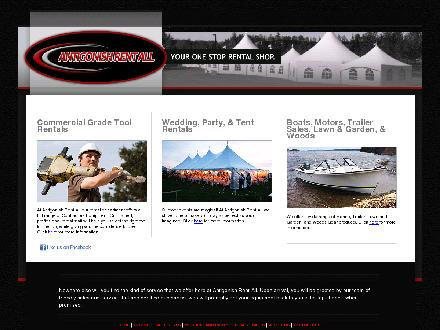 Antigonish Tent-All (902-863-6633) - Onglet de site Web - http://www.antigonishrentall.ca