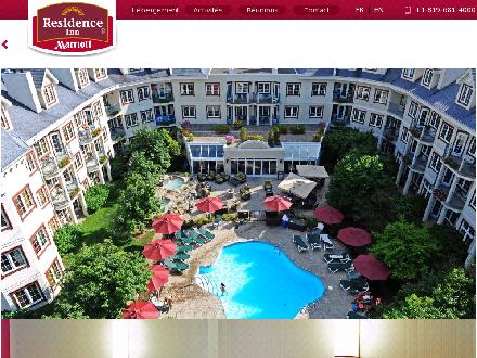Marriott Residence Inn (819-681-4000) - Onglet de site Web - http://www.marriott-tremblant.com