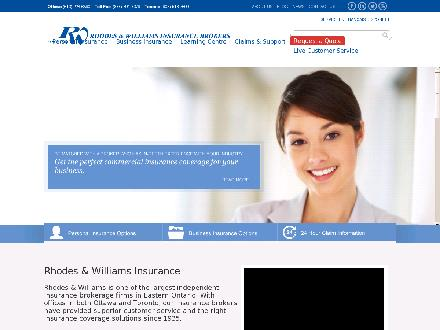 Rhodes & Williams Limited (613-699-3384) - Website thumbnail - http://www.rhodeswilliams.com