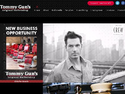 Tommy Gun's Original Barber Shop (780-792-0985) - Website thumbnail - http://www.Tommy-Guns.ca
