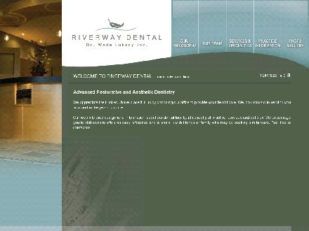 Riverway Dental (250-334-3356) - Onglet de site Web - http://www.riverwaydental.com