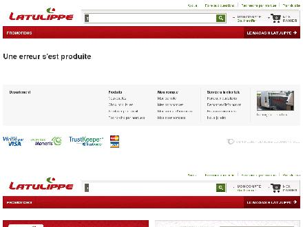 Magasin Latulippe (418-529-0024) - Onglet de site Web - http://www.latulippe.com