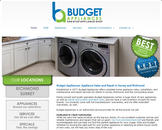 Budget Appliance (604-549-5043) - Website thumbnail - http://budgetappliances.ca/