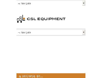 C S L Equipment Ltd (403-248-0005) - Website thumbnail - http://www.cslequipment.com