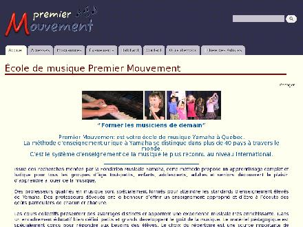 Premier Mouvement (418-647-4127) - Website thumbnail - http://www.1er-mouvement.ca