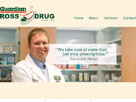 Ross Drug Co Limited (506-458-9951) - Website thumbnail - http://www.rossdrug.ca