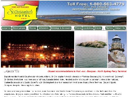 St Christopher's Hotel (1-888-760-2915) - Onglet de site Web - http://www.stchrishotel.com
