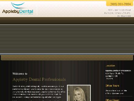 Appleby Dental Professionals (905-331-7654) - Website thumbnail - http://www.applebydental.ca