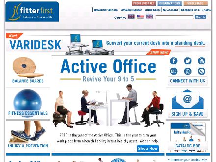 Fitter International Inc (Fitterfirst) (403-243-6830) - Website thumbnail - http://www.fitter1.com