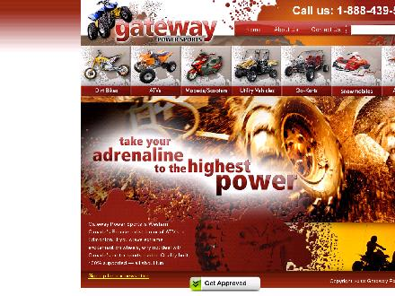 Gateway Power Sports Ltd (780-439-5254) - Website thumbnail - http://www.gateway-ps.com