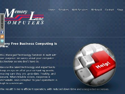 Memory Lane Computers (403-526-2288) - Website thumbnail - http://www.memlane.com