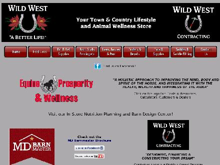Wild West Farm & Garden Ltd (204-444-2322) - Website thumbnail - http://www.wildweststore.ca