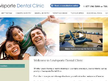 Lewisporte Dental Clinic (1-888-280-9269) - Website thumbnail - http://www.lewisportedentalclinic.ca