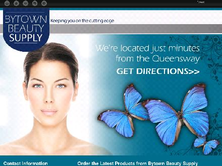 Bytown Beauty Supply (613-739-7359) - Onglet de site Web - http://bytownbeauty.com/