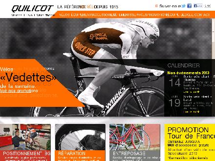 Bicycles Quilicot (514-842-1121) - Onglet de site Web - http://www.bicyclesquilicot.com