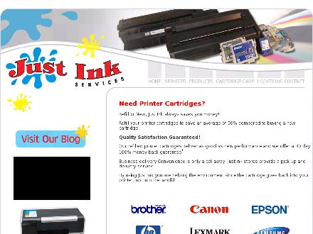 Just Ink Services (250-860-2904) - Website thumbnail - http://www.justinkservices.com