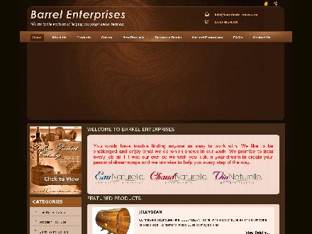 Barrel Enterprises (506-485-8989) - Website thumbnail - http://barrellenterprises.com/