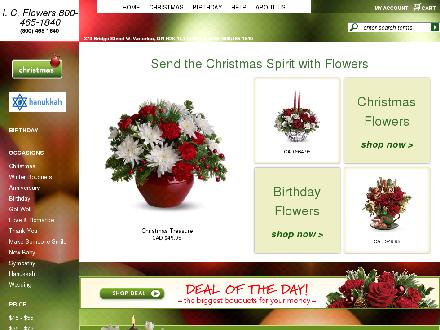 I C Flowers (519-746-5456) - Website thumbnail - http://www.icflowers.ca