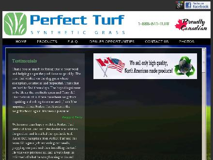 Perfect Turf Inc. (403-948-7484) - Onglet de site Web - http://www.perfectturf.ca