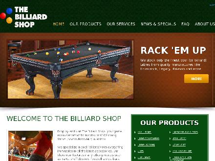 Billiard Shop The (902-490-0001) - Onglet de site Web - http://www.thebilliardshop.com