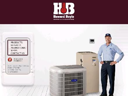 Howard Boyle Heating & Air Conditioning Ltd (613-829-4000) - Onglet de site Web - http://www.howardboyle.ca