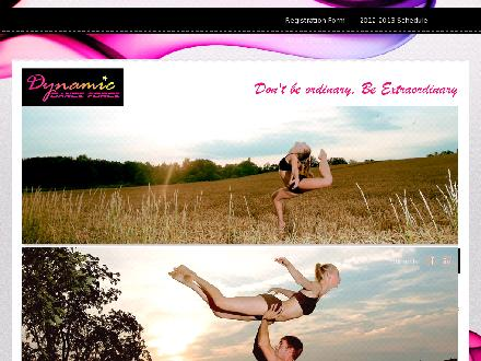 Dynamic Dance Force Inc (519-622-2610) - Website thumbnail - http://www.dynamicdanceforce.ca