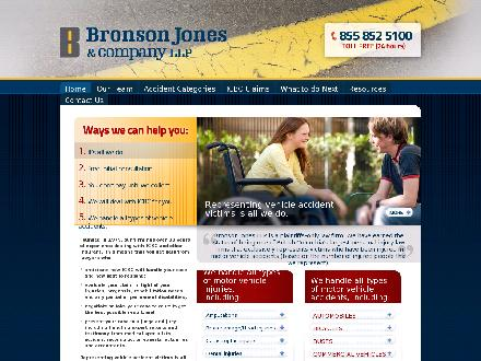 Bronson Jones & Co (604-944-3002) - Onglet de site Web - http://www.bronsonco.com