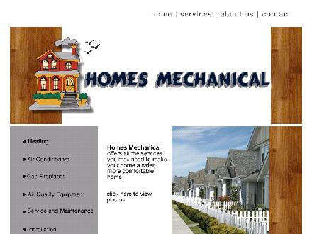 Homes Mechanical (519-452-4803) - Onglet de site Web - http://www.homesmechanical.com