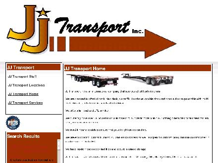 J J Transport Inc (604-821-1105) - Website thumbnail - http://www.jjtransport.ca
