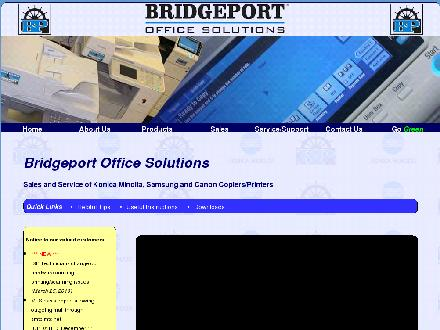 Bridgeport Office Solutions (204-953-0540) - Onglet de site Web - http://www.bpos.ca